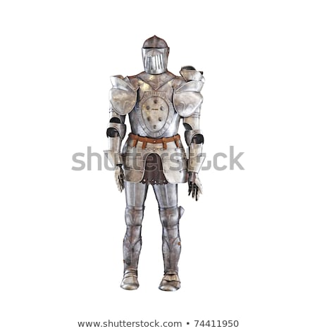 medieval armor isolated on a white background Stock photo © bmonteny