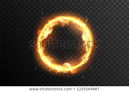 Stockfoto: Fire Flame Ring