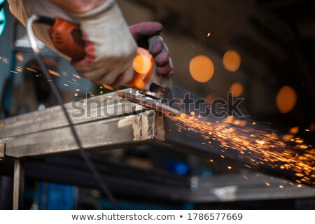 Welding process in detail Stock photo © jiri_miklo