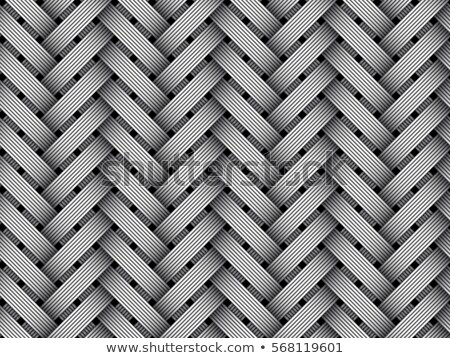 Woven metal pattern. Stock photo © Leonardi
