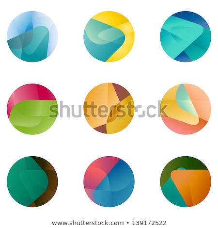 Global flower abstract illustration design  Stock photo © alexmillos