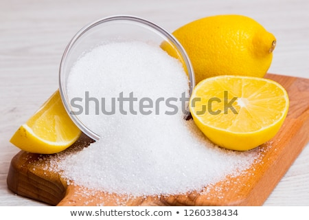 Citric acid Stock photo © yelenayemchuk