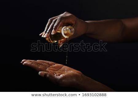 指 黒 手 2 のような 郡 ストックフォト © sharpner