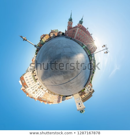 minuscolo · pianeta · città - foto d'archivio © 5xinc