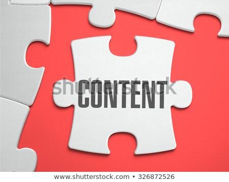 cms · technologie · inhoud · beheer · computer · achtergrond - stockfoto © tashatuvango