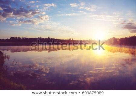 мнение реке небе отражение облака воды Сток-фото © AlisLuch