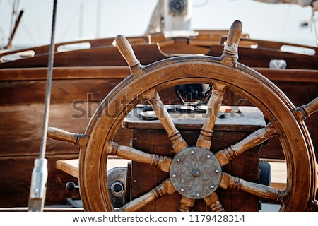 old sailing boat stock photo © steffus
