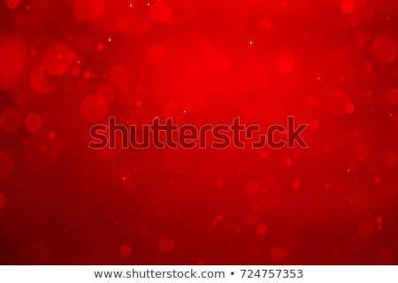 Resumen bokeh círculos diseno rojo stock Foto stock © punsayaporn