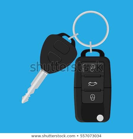 Car Key Keychain Stock photo © idesign