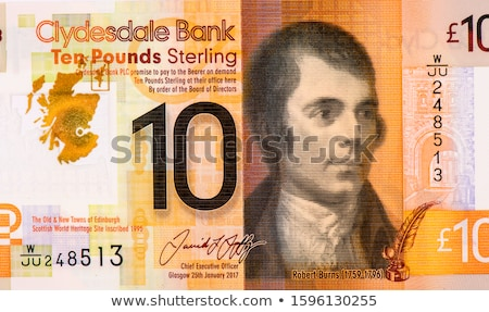 10 isolado branco dinheiro banco Foto stock © michaklootwijk