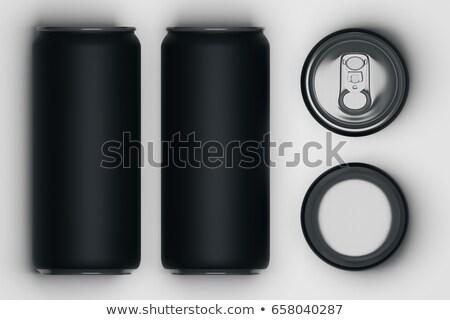 напиток можете иллюстрация белый хранения Top Сток-фото © bluering