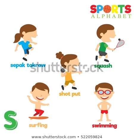 スポーツ · 子供 · 実例 · 異なる · ギア - ストックフォト © bluering