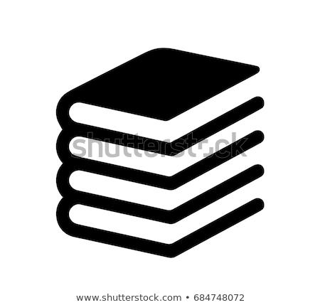 best-seller · livre · icône · gris · vert · papier - photo stock © angelp