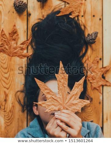 sexy · brunette · dame · vrouw · meisje - stockfoto © chesterf