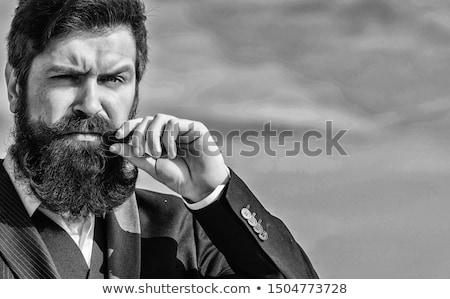 ヒップスター ビジネスマン ポップアート レトロな ベクトル ヴィンテージ ストックフォト © studiostoks