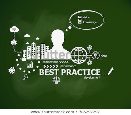 コミュニティ 練習 ビジネス 吹き出し 文字 手描き ストックフォト © tashatuvango