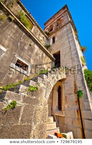 Ethno village od Skrip architecture view Stock photo © xbrchx