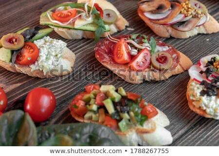 багеты · хлеб · четыре · багет - Сток-фото © digifoodstock