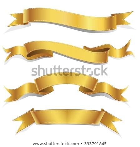 gratuláció · szalag · szalag · absztrakt · napfelkelte · csillag - stock fotó © barbaliss