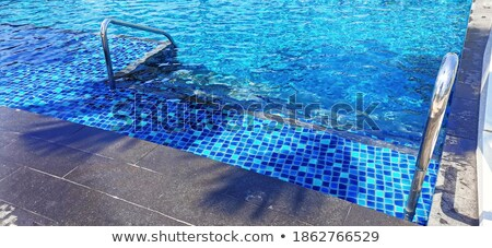 Poolside water, selective focus Stock photo © stevanovicigor