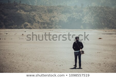people run away from a nuclear explosion Stock photo © studiostoks