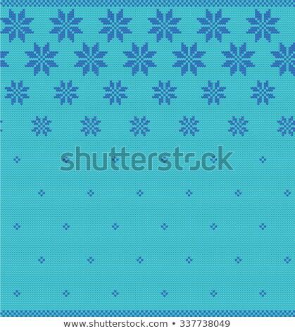 冬 雪 ベクトル パターン クリスマス ストックフォト © RedKoala