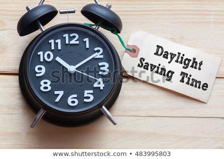 Сток-фото: Daylight Saving Time Begins 2