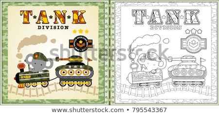Armored train  Stock photo © grafvision