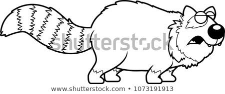 漫画 赤 パンダ 実例 ストックフォト © cthoman