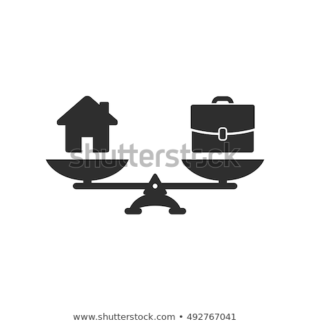 Work life or home balance business concept Stock photo © Elnur