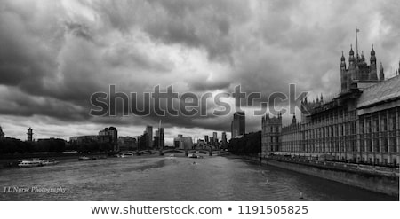 clouds over parliament stock photo © givaga