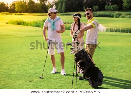 женщины гольфист гольф клуба Сток-фото © Kzenon