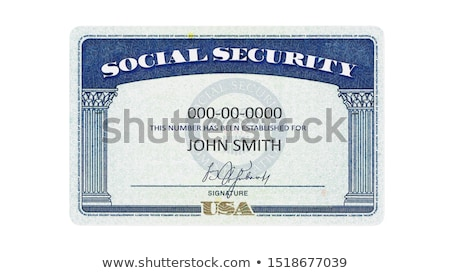 social security stock photo © lightsource