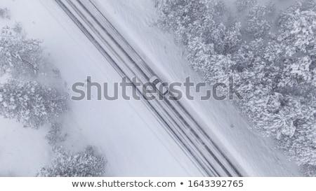 légifelvétel · összetett · autópálya · szín · forgalom · autóút - stock fotó © cookelma