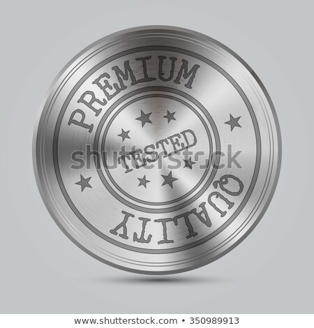 Gepolijst textuur zilver metaal vector Stockfoto © Iaroslava
