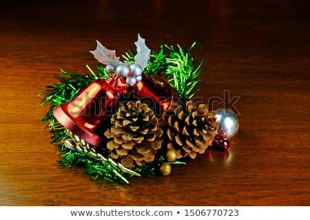 クリスマスツリー 装飾 弓 ブランド設定 シーズン ストックフォト © Anneleven