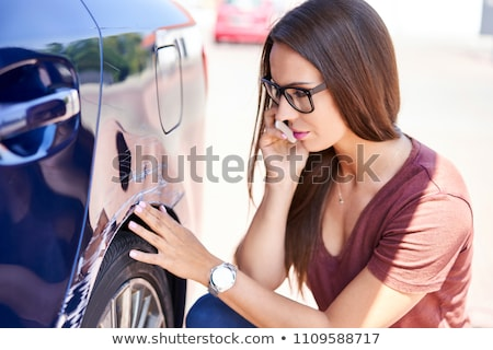 Insurance Agent Inspection Car Paint Stock photo © AndreyPopov