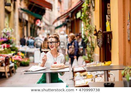 Beroemd Italiaans eten prosciutto foto achtergrond Stockfoto © olira