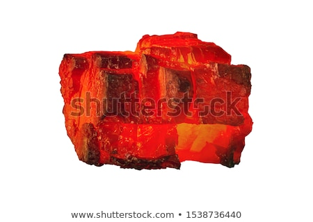 Sıcak kömür fotoğraf ahşap kırmızı Stok fotoğraf © rosspetukhov