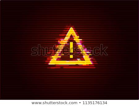 赤 エラー 孤立した 白 技術 ストックフォト © cidepix