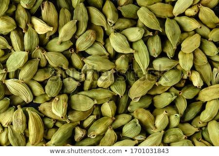 カルダモン 食品 自然 パス シード 穀物 ストックフォト © leeser