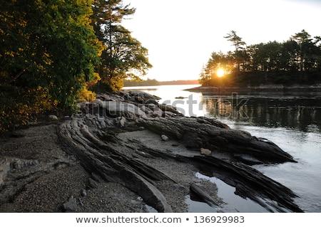 Мэн · пляж · Восход · лет - Сток-фото © jsnover