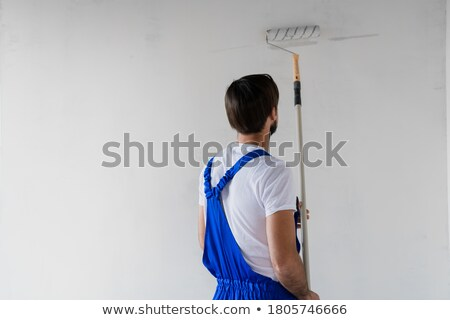 Portrait of a professional house painter Stock photo © photography33