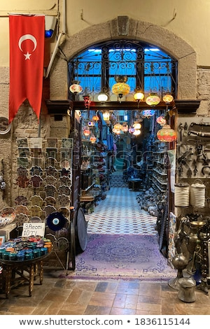 Turks handgemaakt objecten aardewerk traditioneel ontwerpen Stockfoto © HypnoCreative