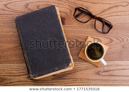 Old Note Book on Wood stock photo © koratmember
