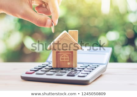 House building costs Stock photo © ShawnHempel