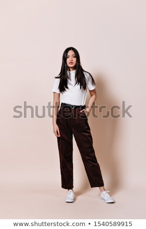 snapshots of woman in pants Stock photo © photography33