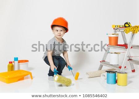 Child decorator Stock photo © photography33