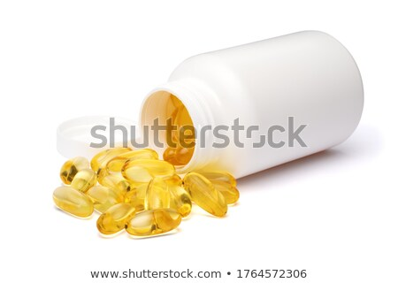 Fish Oil and Bottle Stock photo © sbonk