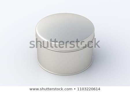 tin container stock photo © devon